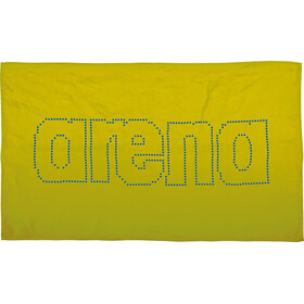 arena Haiti Towel acid lime-pix blue